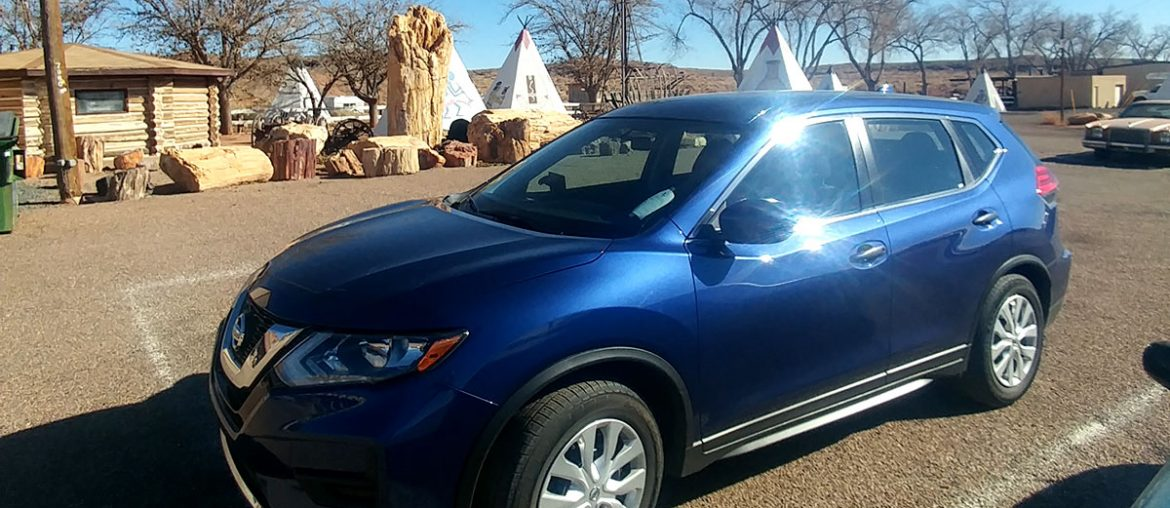 The Nissan Rogue is a great vehicle for Roadtrips - roguetrippers chose their vehicle because It is perfectly suited for road trips.