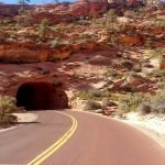 Long tunnels, winding roads, roguetrippers experience all kinds of road trip conditions