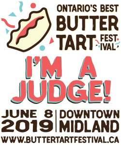 Roguetrippers-butter-tart-judge-announcment-Midland-Butter-Tart-Festival