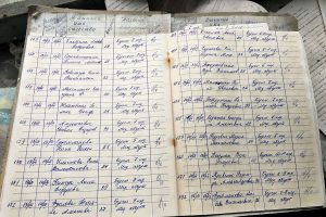 The Record book of the Pripyat hospital in the Exclusion zone tells a horrific tale of the human story