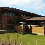 Frank Lloyd Wright's Darwin House in Buffalo is a beautiful piece of architecture