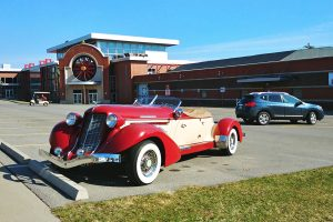 Roguetrippers visited the Pierce-Arrow Car museum in Buffalo New York, in 2019