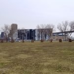 Wilkeson point park Buffalo - with a Robert Indiana sculpture.