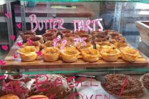 buttertarts at the Grove Farm Market