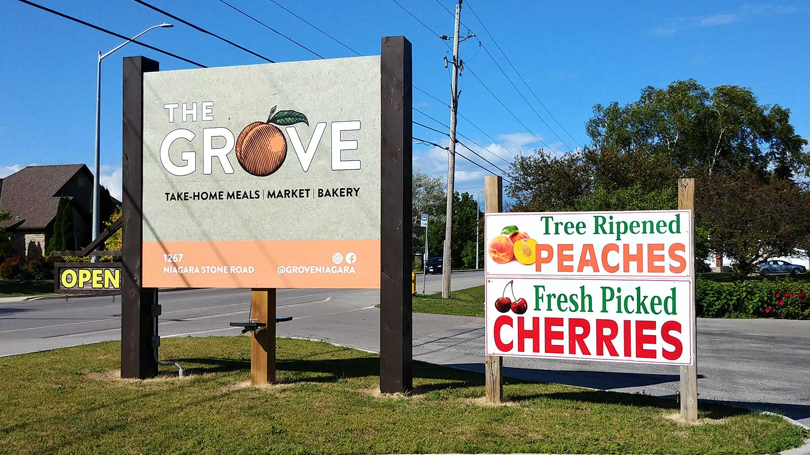 The Grove Farm Shop in Niagara on the Lake