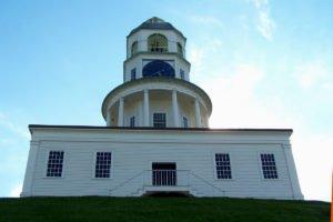 The Clock Tower at the Halifax Citadel