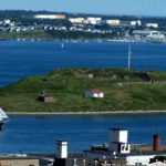 Georges Island as viewed from the Halifax Citadel
