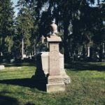 Roguetrippers travel to cemetery where Jack the Ripper grave can be found in Rochester New York