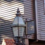 Roguetrippers followed the Freedom trail in Boston found Paul Reveres house