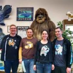 Roguetrippers visit the cryptozoology museum in Portland