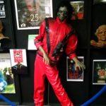 Michael Jackson Thriller zombies living dead weird museum