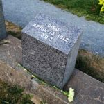 Numbered graves at the Titanic Cemetery travel to Halifax Nova Scotia
