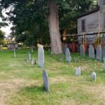 Roguetrippers travel to cemetery in Salem