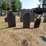 Roguetrippers travel to the burying point cemetery in Salem Massachusetts