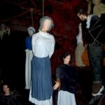 The hanging of witches at the Weird Museums Salem Witch trials