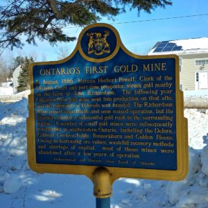 Roguetrippers visited Goldmine in Eldorado near Madoc