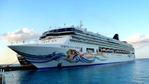 Roguetrippers often cruise with Norwegian Cruise Lines
