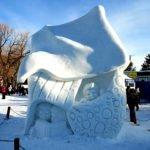 Snow Sculptures Winterlude