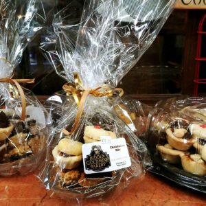 Old Fashioned Baked goods as a gift basket at Hidden Goldmine Bakery Madoc