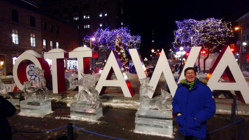 Roguetrippers in Ottawa during Winterlude Festival