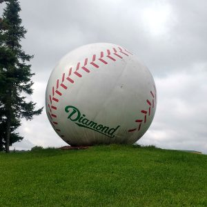 the giant Baseball in Sault Ste Marie