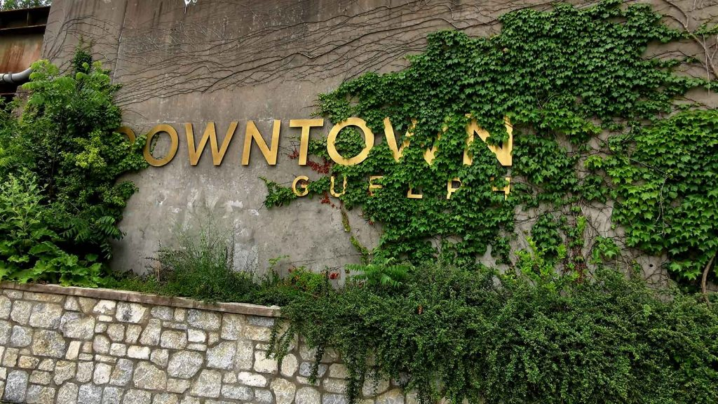 The city of Guelph downtown core is a great place to check out.