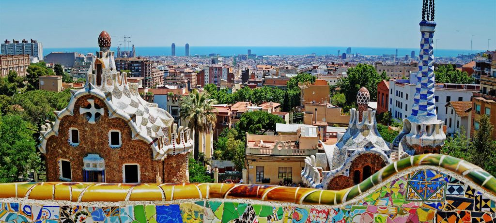 when you visit Barcelona be sure to see Park Guell