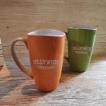 Roguetrippers have Dollywood coffee mugs travel souvenirs.