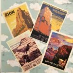 Roguetrippers love vintage print Post Cards as travel souvenirs.