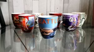 Nick Kulnies has a large collection of these fun coffee mugs as travel souvenirs