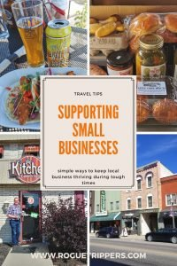 Support Small Business and local producers as you purchase your travel souvenirs