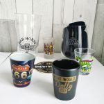 Roguetrippers always buy shot glasses and pint glasses as travel souvenirs