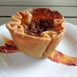Pecan and raisin butter tart from Madelyns Diner