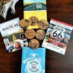 Roguetrippers bought coasters as travel souvenirs depicting many iconic Route 66 scenes.