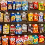 Road trips mean stopping at many rest stops and gas stations for snacks