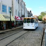Old Savannah Trolley tours are a great way for Roguetrippers to get around town.