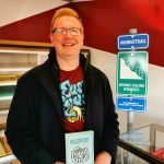Nick Kulnies of Roguetrippers visit Ross Bakery on Butler County Donut Trail