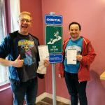 Nick & Greg Roguetrippers completed the Butler County Donut Trail.