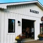 the bakery at Snyder's Farm is a favourite destination in Oxford County