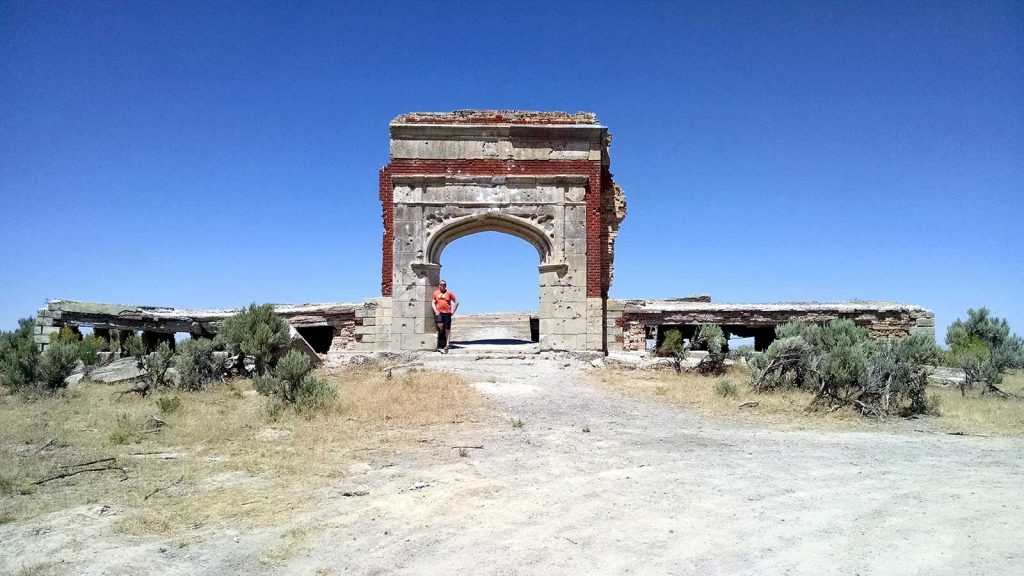 Rogue_Trippers visit the ghost town of Metropolis, Nevada