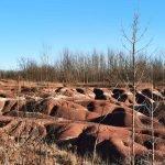 Cheltenham Badlands in Caledon Ontario