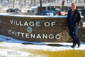 Roguetrippers first visit to the Village of Chittenango, New York.