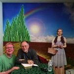 Nick Kulnies meets Gregory Maguire at Oz-Stravaganza in Chittenango
